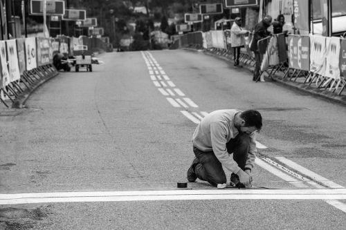 man work race