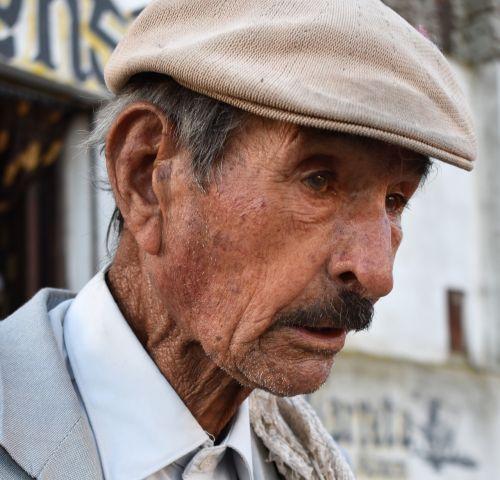 man elder face