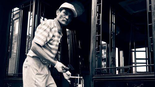 man painter worker