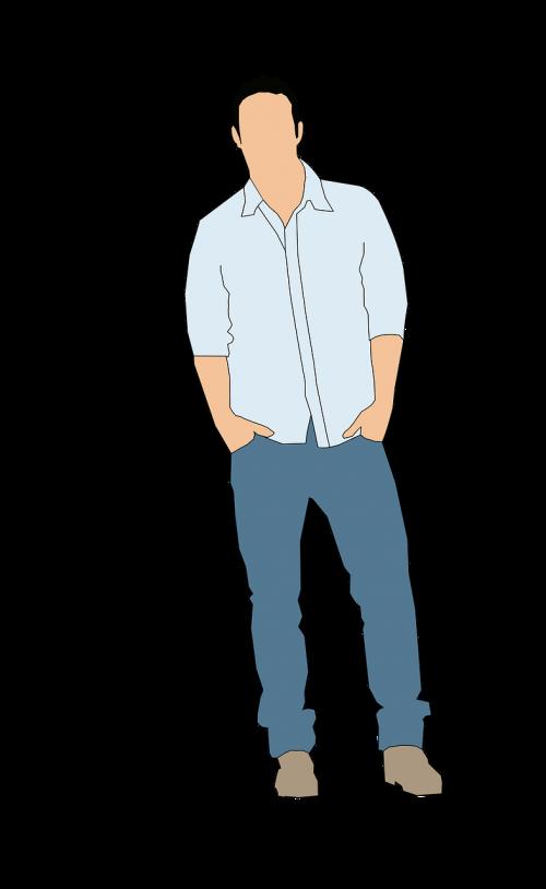 man casual shirt