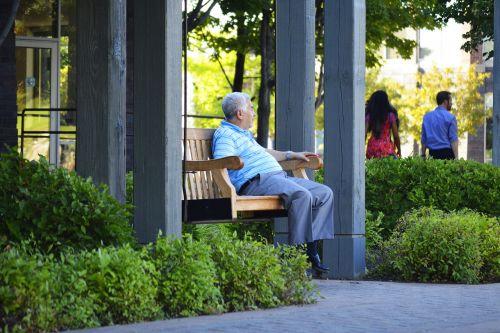 man middle-aged elderly