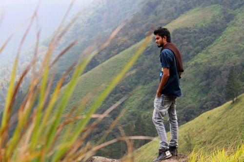man male hiker
