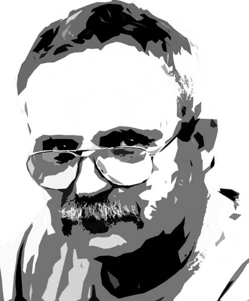 man glasses mustache
