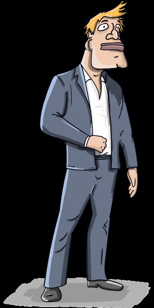 man costume jacket