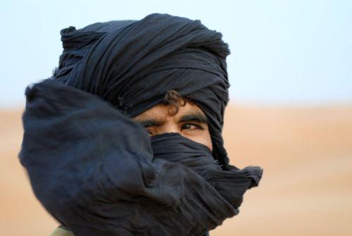 man desert moroccan