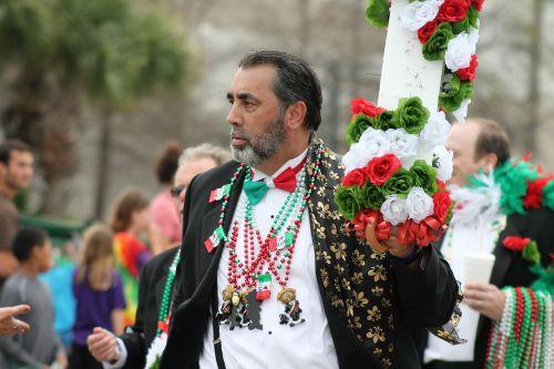 man parade irish parade