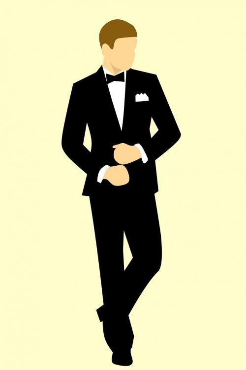 man suit model