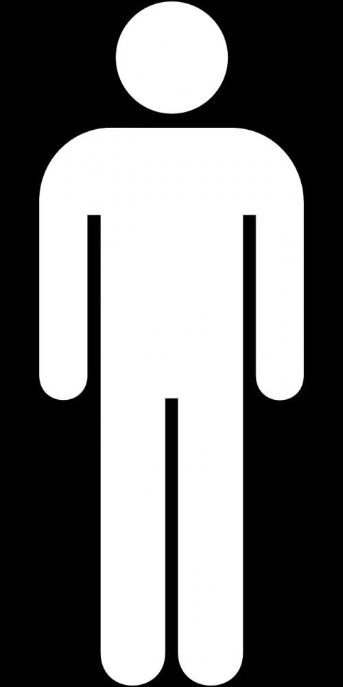 man pictogram male
