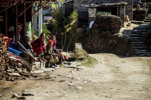man nepal himalaya