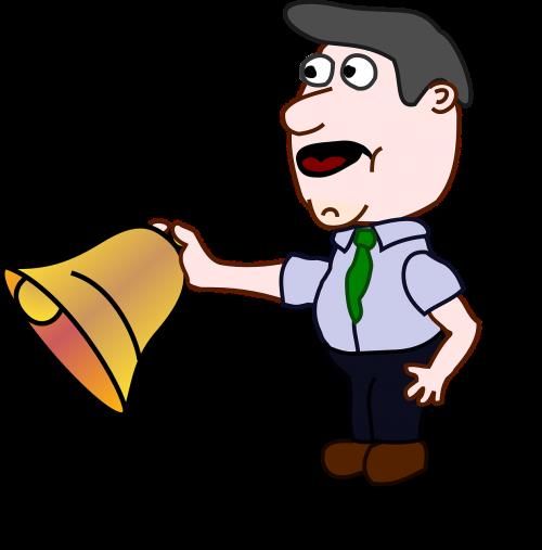 man bell school bell