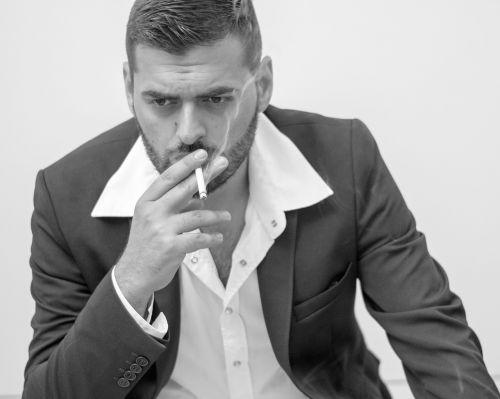 man portrait adult
