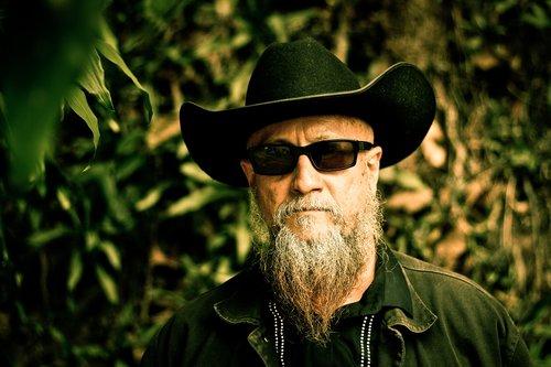 man  cowboy  beard