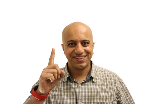 man  pointing finger  finger