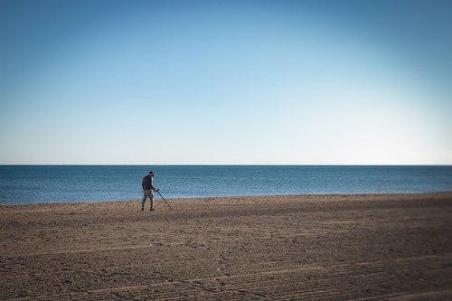 man  beach  detection