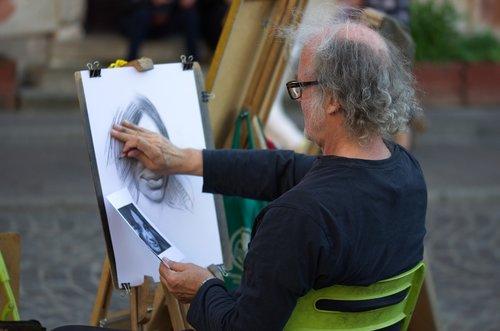 man  old  painter