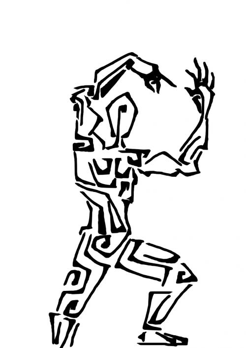 man person dancing