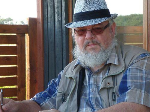 man beard terrace