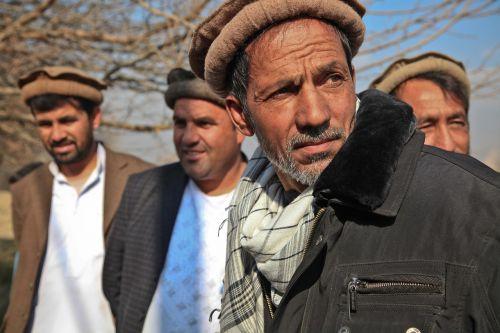 man portrait afghanistan