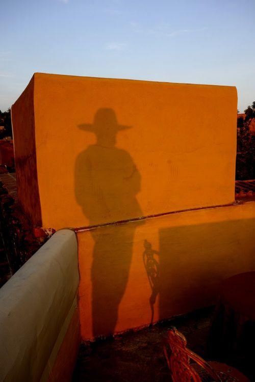 man shadow human