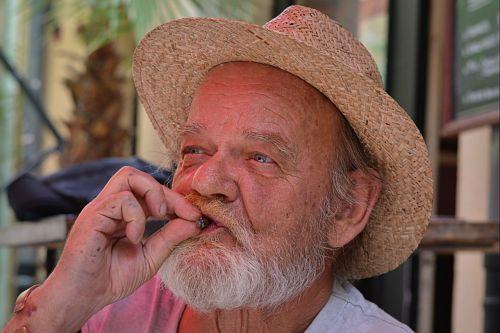 man portrait old man