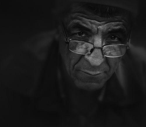 man old elderly