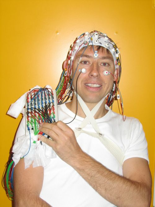 man person eeg study