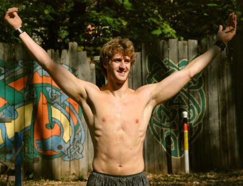 man shirtless shirtless man