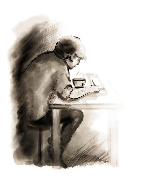 man studying  man  study