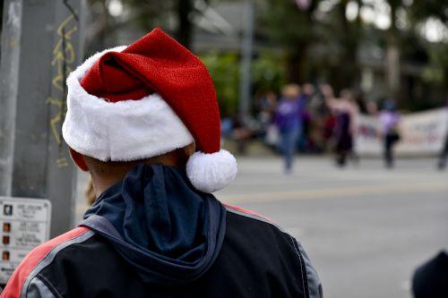 Man Watching Parade