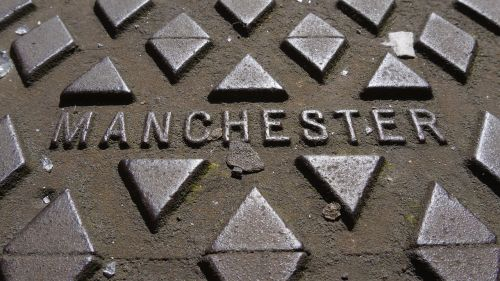 manchester manhole cover metal