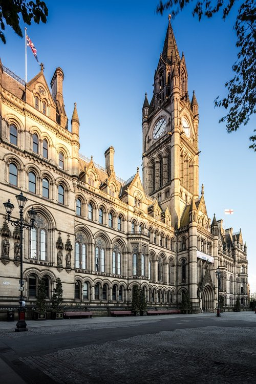 manchester town hall  manchester  town
