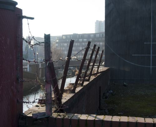 manchester uk rochdale canal bridge