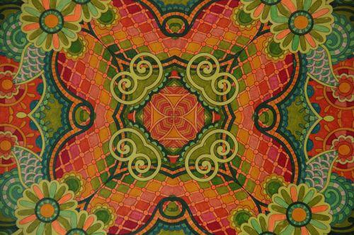 mandala,spalva,nuotaika,geometrinis,gėlė,tinklas,šilta spalva
