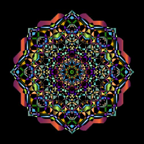 mandala abstract geometric