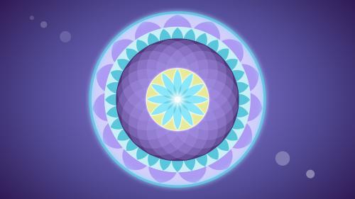 mandala circles meditation