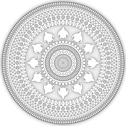 mandala pattern ethnic