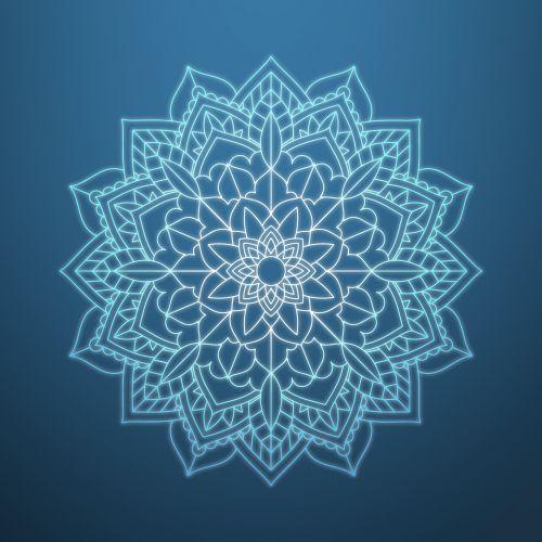 mandala floral ornament pattern