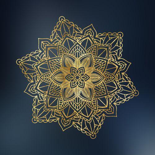 mandala floral ornament ethnic