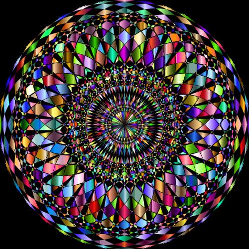 mandala,dekoratyvinis,dekoratyvinis,kriauklė,abstraktus,geometrinis,menas,spalvinga,prizminis,chromatinis,vaivorykštė,nemokama vektorinė grafika