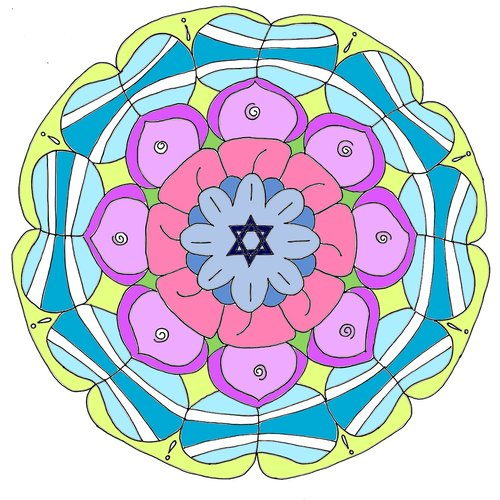 mandala  cycles  lotus