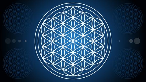 mandala  flower of life  sacred geometry