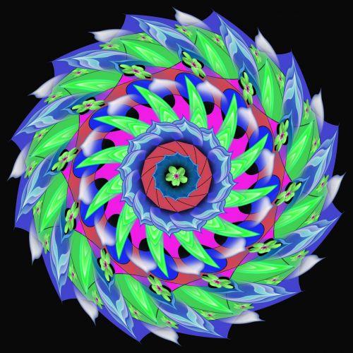 Mandala - Rotation