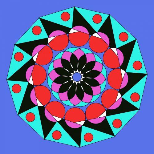 mandala, simetrija, ornamentas, apdaila, meditacija, harmonija, Astronija, mandala simetrija