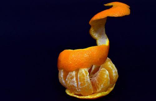 mandarin shell fruit
