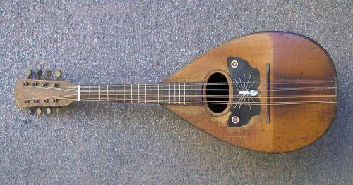 mandolin naples campania