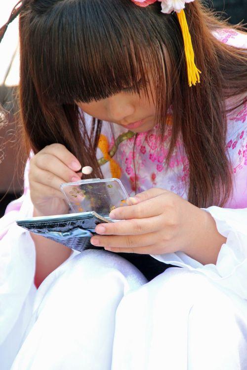manga make up young girl
