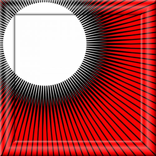 Manga Rays Frame