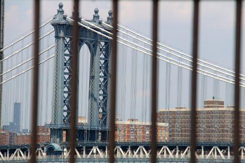 manhattan bridge nyc america