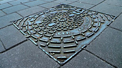 manhole manhole cover cable-chamber