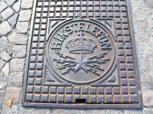 manhole cover sweden gothenburg
